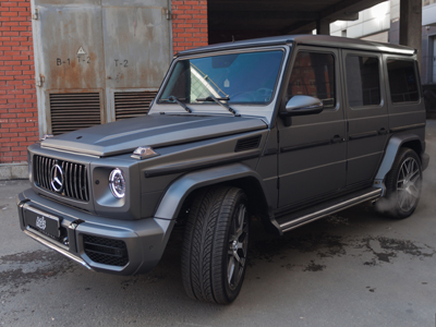 MERCEDES-BENZ G-CLASS в плёнке Avery Matte Metalic Grey