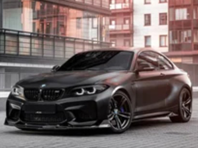 BMW M2 в пленке Avery Satin Black